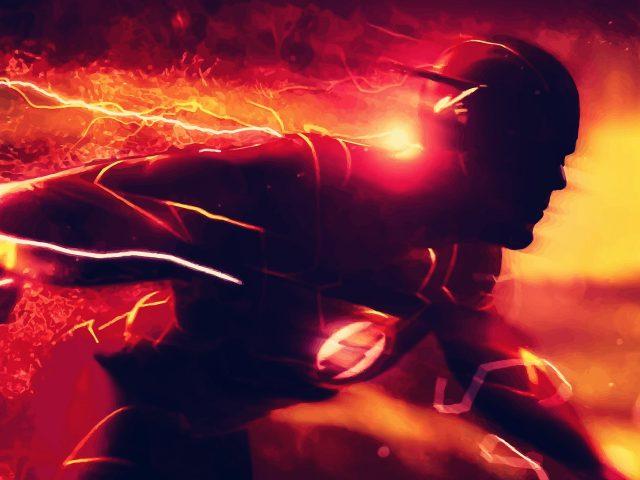 Обложка комиксов flash dc