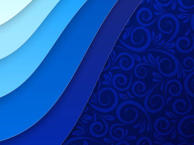Синий цветок текстура абстракция