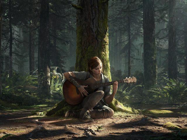 Последний из нас Часть ii Элли сидит под деревом