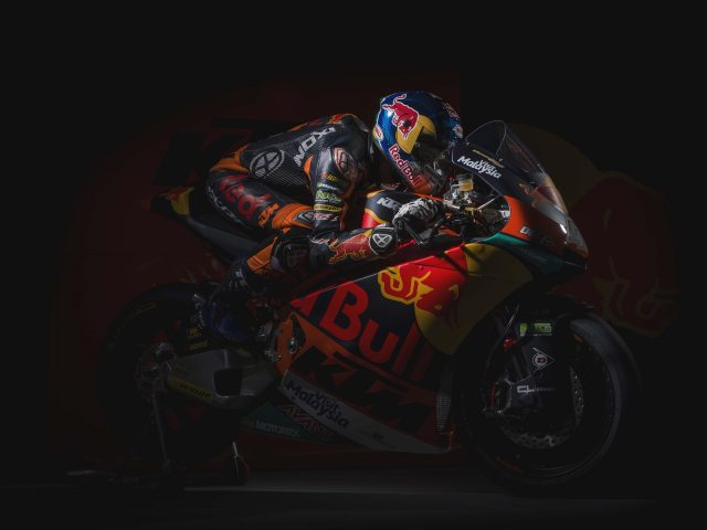 Команда KTM moto2