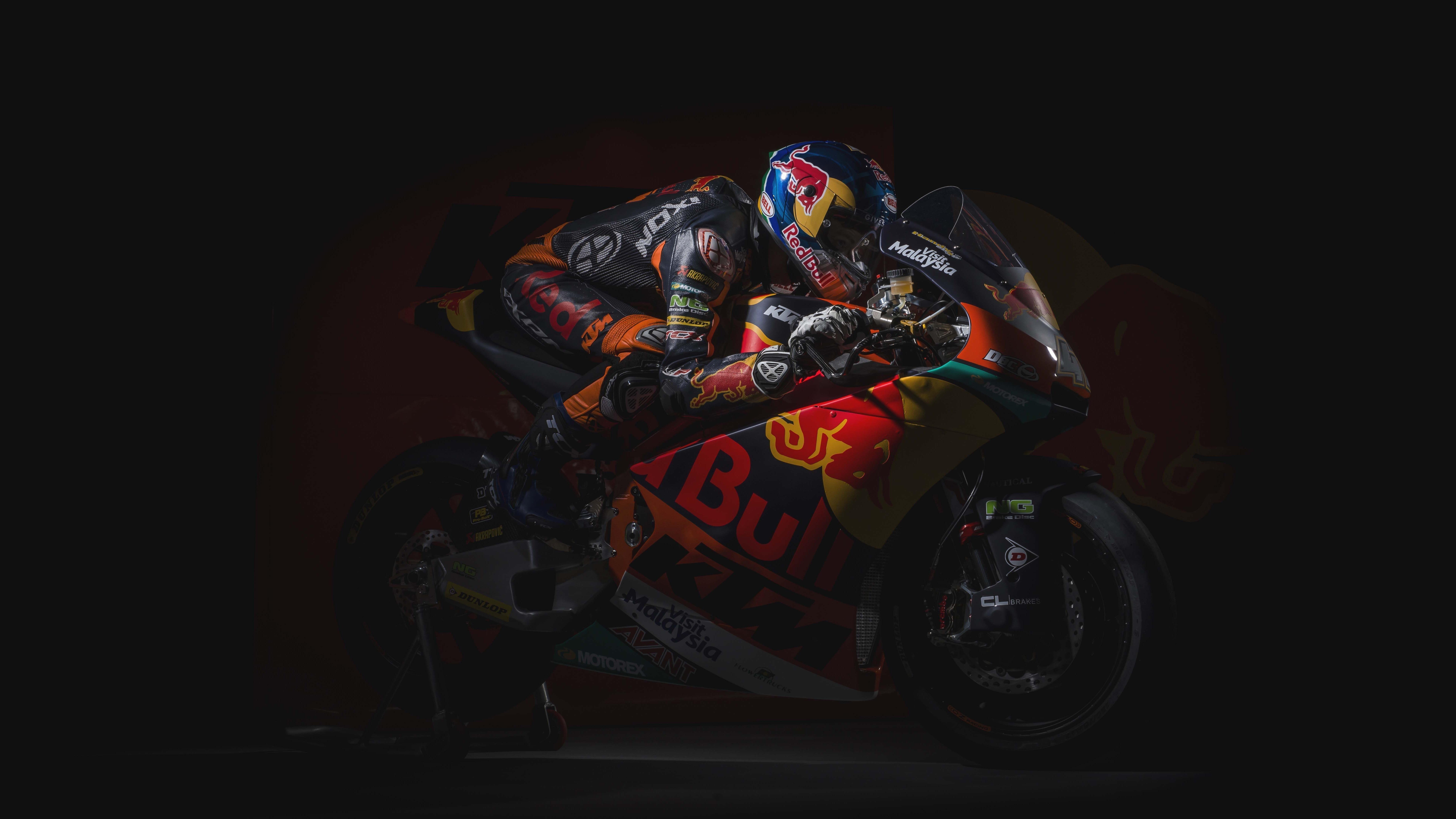 Команда KTM moto2 обои скачать