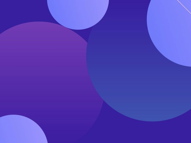 Абстрактный круг 1 абстракция
