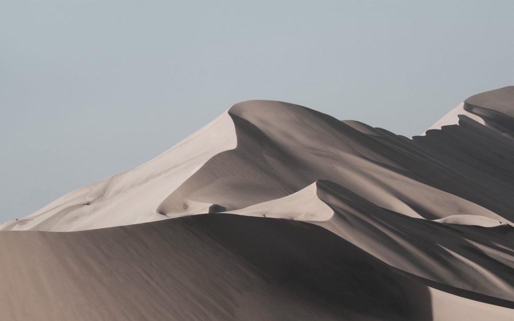 Пустыня песок дюны. обои скачать