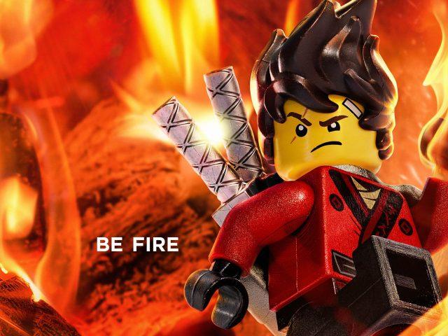 Кай пожар в Лего ниндзяго