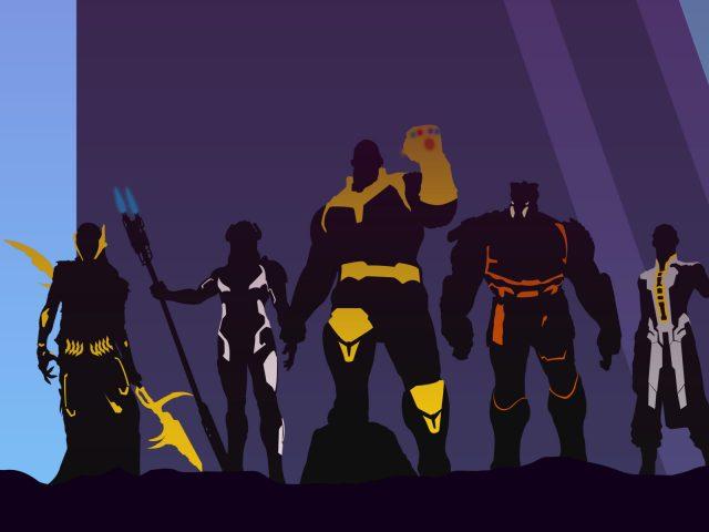 Мстители бесконечность войны танос произведения искусства