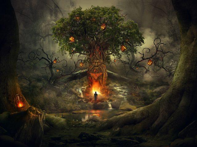 Страшный лесной сон