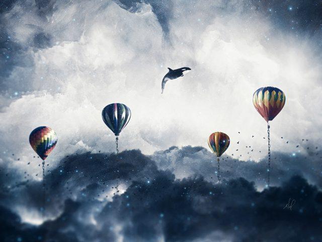 Сюрреалистические воздушные шары