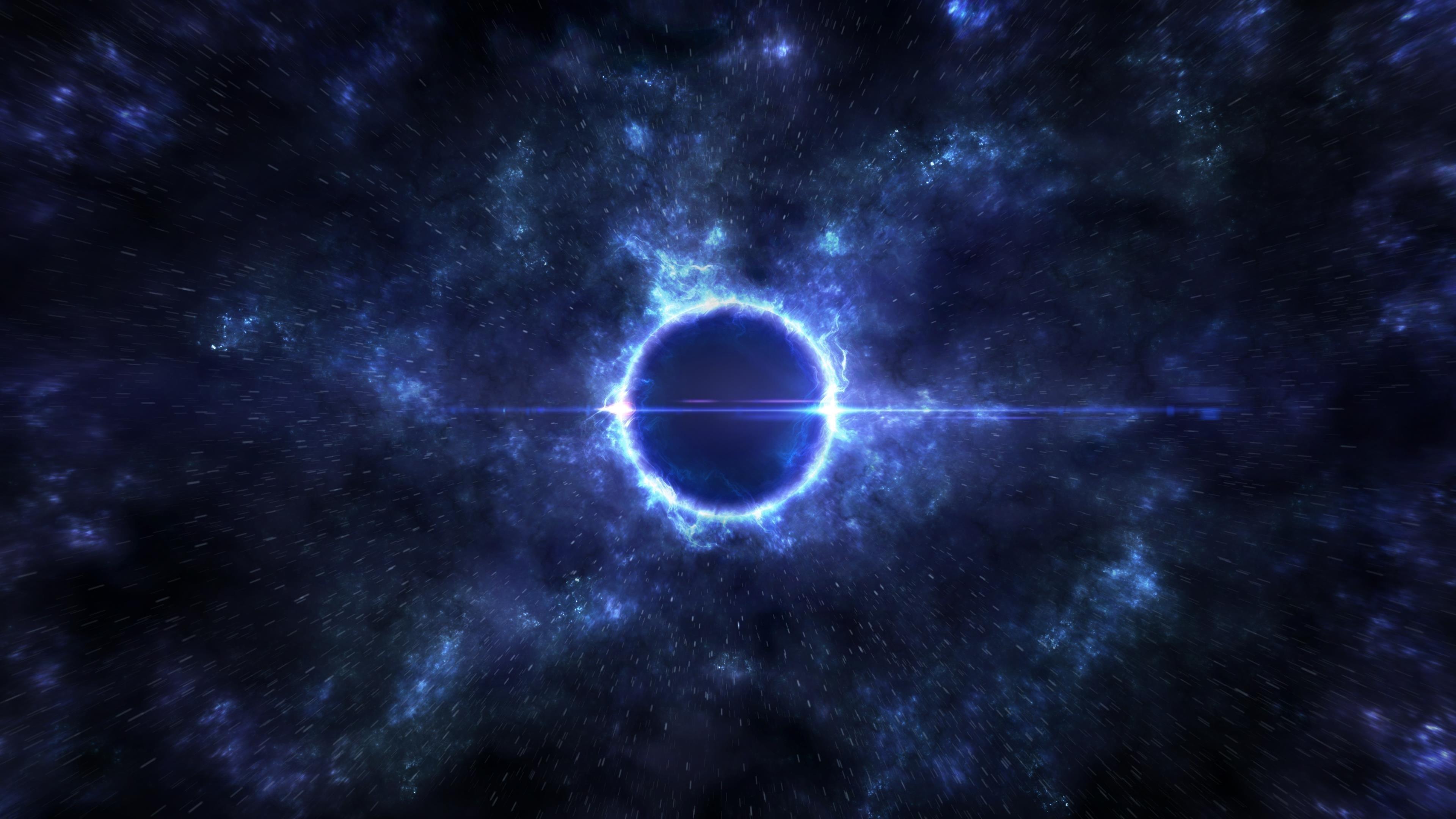 Ворота черной дыры обои скачать